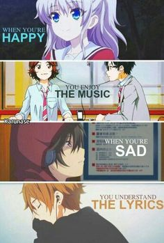 Happy - Music | Sad - Music | Effect • Anime Quote