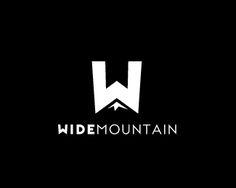 negative space logo mountain - Google Search