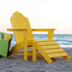 Long Island Adirondack Chair and Ottoman $159-$502