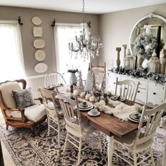 gathering table in our dining room! Amy Kinser