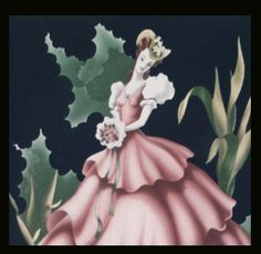 Turner Print of Southern Belle on Black at Toinette's