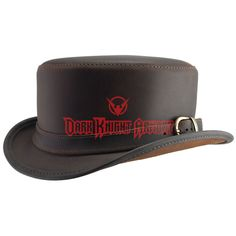 236b6c82e15 Bromley Leather Hat - MCI-6018 from Dark Knight Armoury Leather Hats