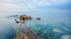 island sea morning hd free download wallpapers