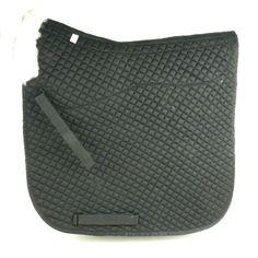 Z18 Brand New Merino Sheepskin Dressage Saddle Pad Black horse pads
