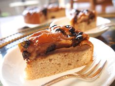 簡単&おいしい☆マクロビオティック林檎のケーキ。