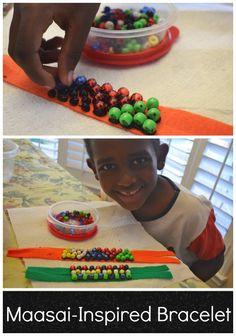 Maasai Craft Bracelet Kids- Kid World Citizen