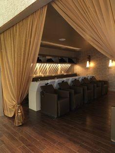 Lathering Lounge Interior Design   Salon Workspace   Salon Design