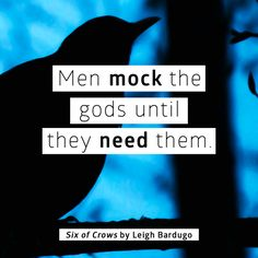 4 quotes I love from Leigh Bardugo's Six of Crows
