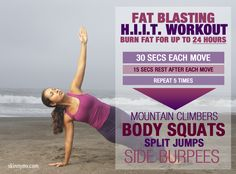 Fat Blasting HIIT Workout