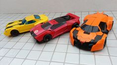 Transformers Robots in Disguise Bumblebee, Sideswipe and Drift