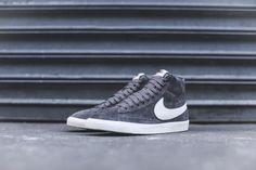 Nike Air Force 1 '07 QS Swoosh Pack Men's Shoe. from nike.com · Nike WMNS  Blazer Mid Suede - Grey / White – Kith