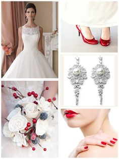 Christmas Wedding Inspiration on itsabrideslife.com