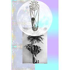 Moon Dancer 08/06/2011 #postcard #collage #moon