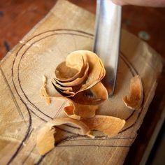 Photo taken by my partner in crime <3 #spoonmaking #spoon #woodenspoon…