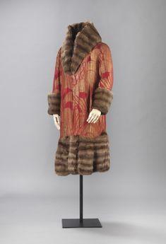 Coat 1925 Nasjonalmuseet for Kunst, Arketektur, og Design