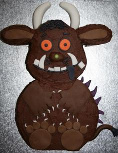 Gruffalo Cake Photo by bake-my-cakescom Bithday Cake, 3rd Birthday Cakes, 3rd Birthday Parties, Gruffalo Party, Sheet Cake Pan, Second Birthday Ideas, Red Nose Day, Occasion Cakes, Cute Cakes
