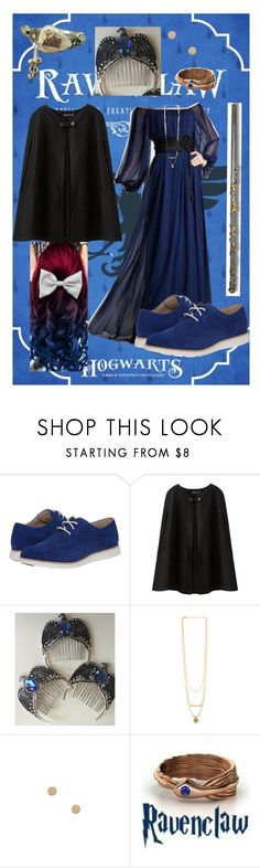 """Ravenclaw"" by mysterious-archer on Polyvore featuring Cole Haan, outfit, harrypotter and ravenclaw"