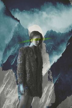 Surrealist Fashion Collages - These Anton Bundenko and Jenya Vyguzov Artworks Merge Two Mediums (GALLERY)