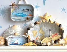 love this idea! Beach and Ocean Diorama Box Ideas