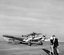 Airplane engagement photos
