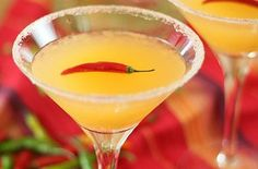 Red Chile Martini — Punchfork