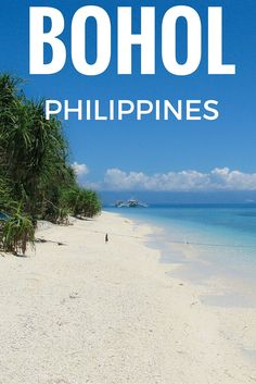 Alona Beach in Bohol, Philippines. Check out this list of 5 awesome activities on the island!