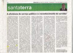 A eficiência do serviço público e o reconhecimento do servidor // Bom Dia - 27/09/2015