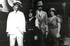 On April 18, 1927, Jimmie Rodgers – one of country music's first superstars – got his big break on Asheville radio station WWNC.  [photo: Jimmie Rodgers with the Carter family of country music fame. Image from the Birthplace of Country Music Museum.]
