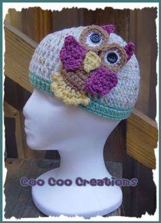 Baby hats, free crochet patterns