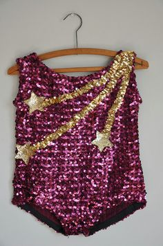 vintage rare showgirl costume / sparkly by simplicityisbliss, $45.00