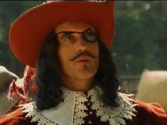 "Christopher Lee as The Count De Rochefort in Richard Lester's ""The Three Musketeers"""