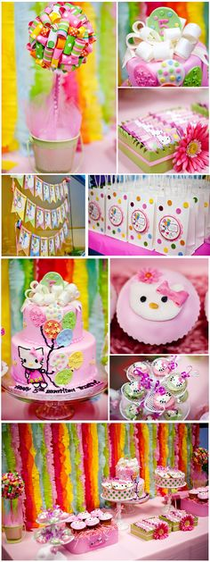 Lil Miss Purrfect Birthday Party by El'uccellino Designs