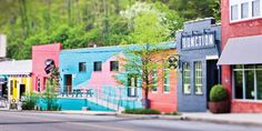 Booming businesses have long since faded away, but the Asheville River Arts District's creative spirit never died. Asheville North Carolina, North Carolina Mountains, The Places Youll Go, Places To See, Ashville Nc, Spring Break Destinations, Travel Destinations, Wanderlust, Down South