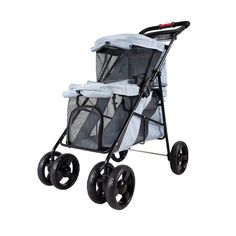 Take walks and travel with multiple pets with the help of the Ibiyaya Double Decker Pet Bus! Pet parents, now you can travel with more than one pet with the Ibiyaya Double Decker Pet Bus! #doublepetstroller #petstroller Dog Stroller, Baby Strollers, Pet Dogs, Pets, Dog Life, Pet Supplies, The Help, Dog Stuff, Grey
