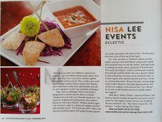 Global cuisine - Multicultural Weddings, 2015 Creative Caterers Westchester Wedding Magazine (Dec 2014)