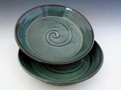 wheel thrown pottery ideas | ... Pasta Bowl - Salad Bowl - Hawaiian Turquoise - Wheel Thrown Pottery