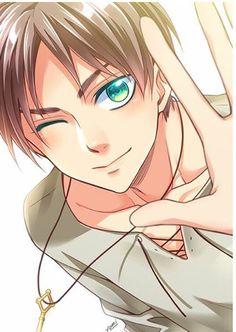 Omg an Eren art from Yomi! And soooo beautiful, love it! | SNK