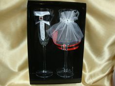 Hey, I found this really awesome Etsy listing at https://www.etsy.com/listing/182794035/wedding-toasting-glasses-with-case-ih