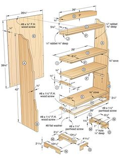 Simple Bookcase Woodworking Plans Wood Projects