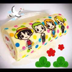 One piece Roll cake with Polka dots Cake Writing, Strawberry Cakes, Plate Design, Yummy Eats, Cute Cakes, Cute Food, Mini Cakes, Creative Food, Relleno