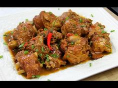 Learn how to make stewed turkey wings as it's done in the Caribbean with the help of Gourmand award winning Caribbean cookbook author Chris De La Rosa. Stewed Turkey Wings Recipe, Cherry Sauce Recipe, Crockpot Recipes, Cooking Recipes, Cooking Videos, Pork Ham, Pork Roast, How To Cook Lamb, Easter Dinner Recipes