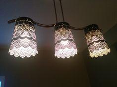 Pretty Lacey Lamp Shade   IKEA Hackers   Bloglovin'