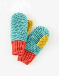Crochet Kids Hats Garter Stitch 56 Ideas For 2019 Baby Knitting Patterns, Knitting Designs, Knitting Yarn, Knitting Projects, Crochet Projects, Crochet Patterns, Kids Knitting, Mittens Pattern, Knit Mittens
