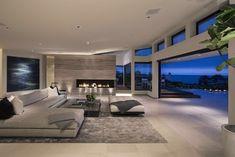 Dream House Interior, Luxury Homes Dream Houses, Dream Home Design, Modern House Design, My Dream Home, Home Interior Design, Modern Mansion Interior, Future House, Stone Flooring