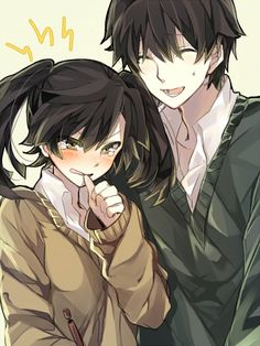 TakaHaru... cute! :) I always bite my thumb like that too.xD