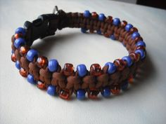 Handmade Dog Collar Macrame Dog  By k9knitknots
