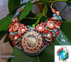 Gardens and waters Beaded Necklace, Gardens, Jewelry, Beads, Beaded Collar, Jewlery, Pearl Necklace, Jewerly, Outdoor Gardens