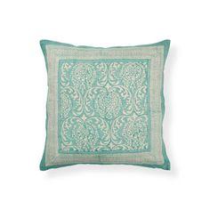 Almofada Estampado Verde - Almofadas - Cama | Zara Home Portugal