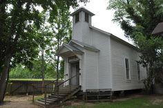An old church in Louisiana