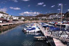 The Harbour and Marina at Puerto Rico, Gran Canaria